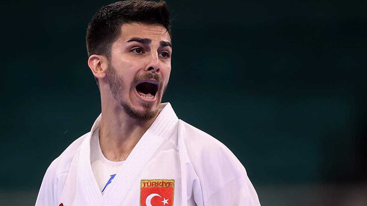 Milli karatecimiz Eray Şamdan olimpiyat ikincisi oldu