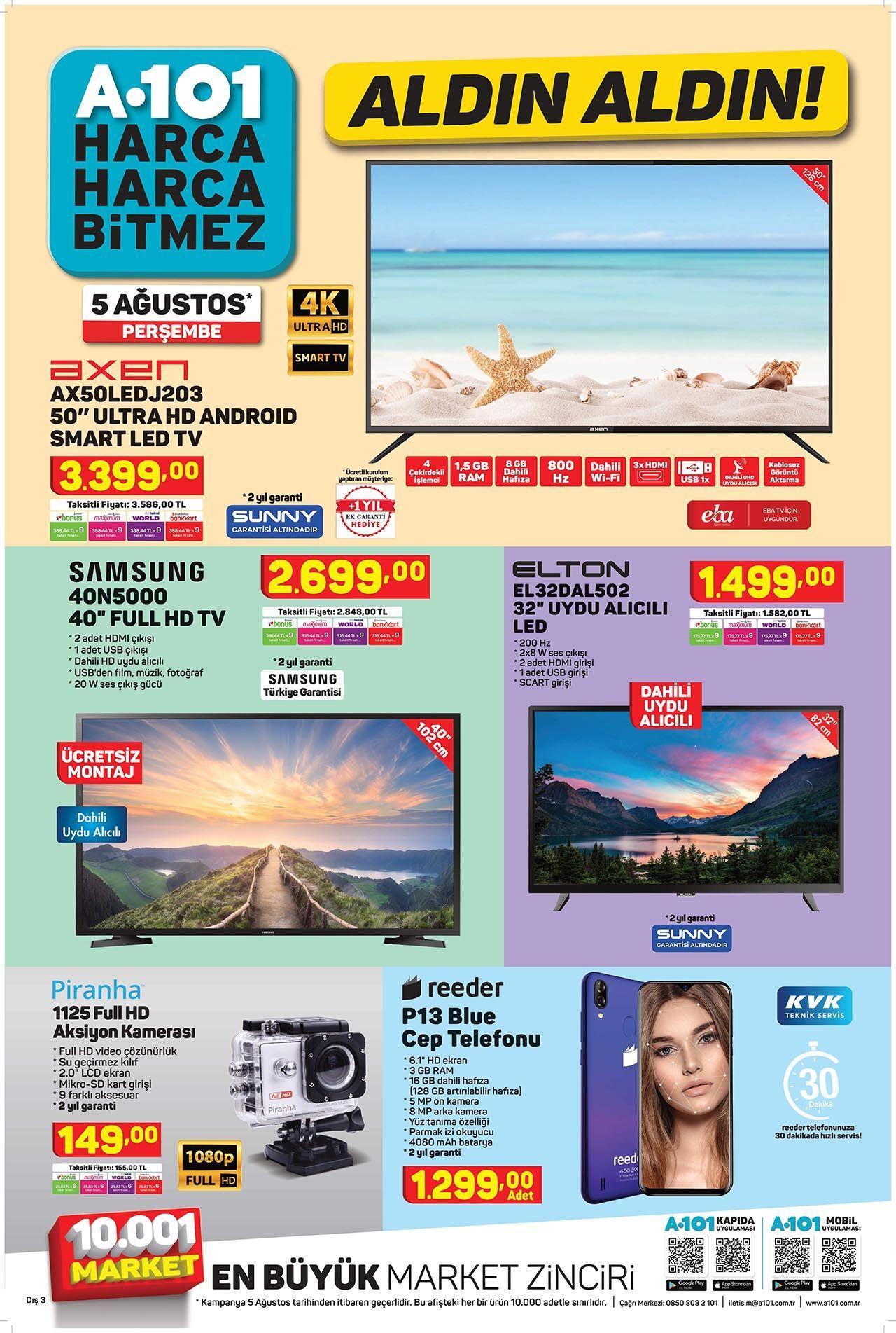 A101 5 Ağustos Perşembe aktüel ürünler kataloğu - Resim: 2