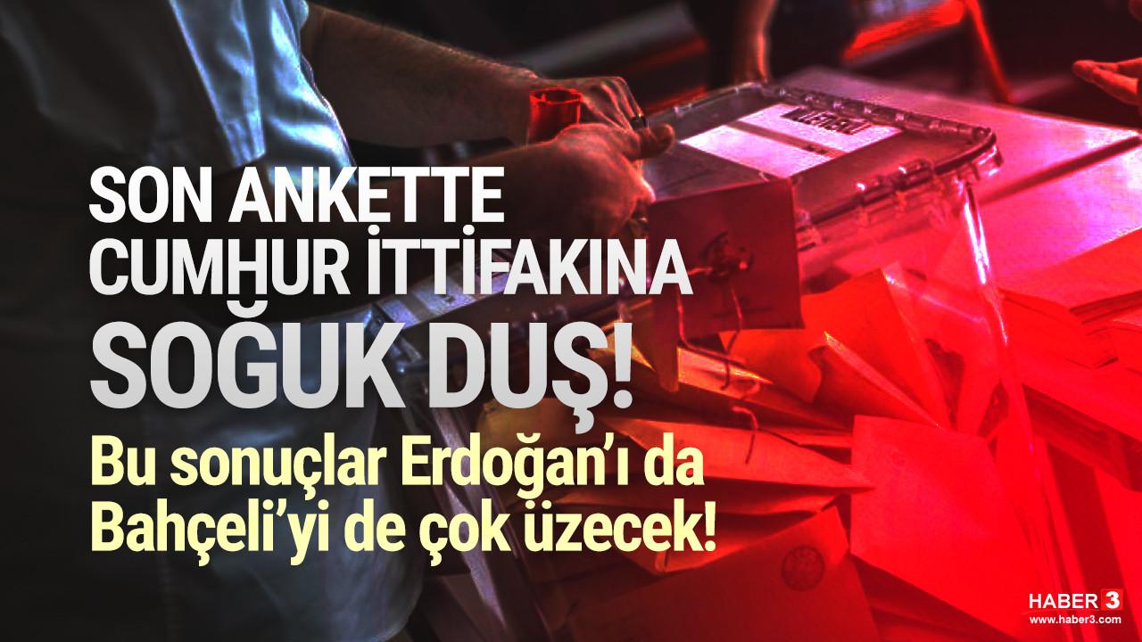 Son seçim anketinde Cumhur İttifakı'na soğuk duş: MHP yine baraj altında!