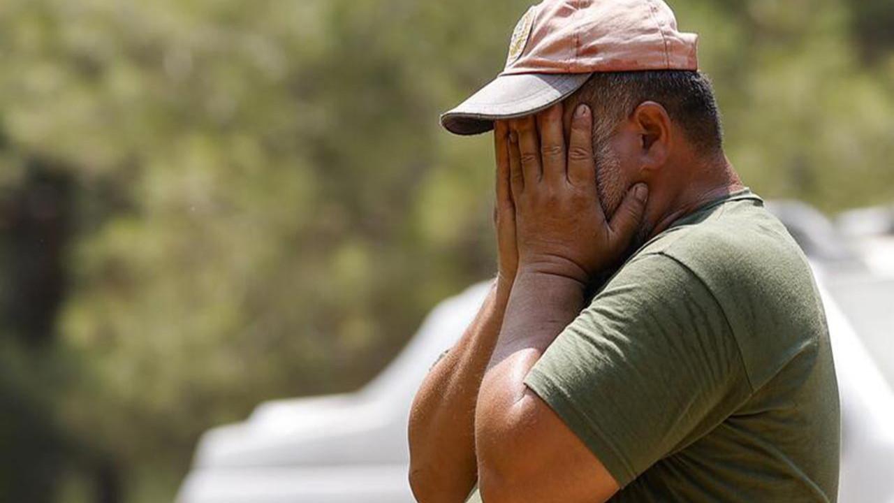 Alevlerin arasında kalan işçilerin telsizde söyledikleri duygulandırdı
