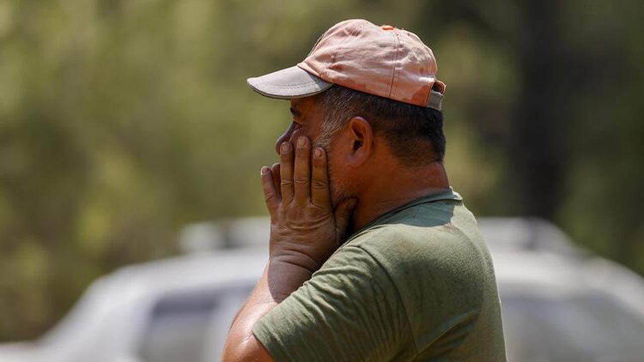 Alevlerin arasında kalan işçilerin telsizde söyledikleri duygulandırdı - Resim: 1
