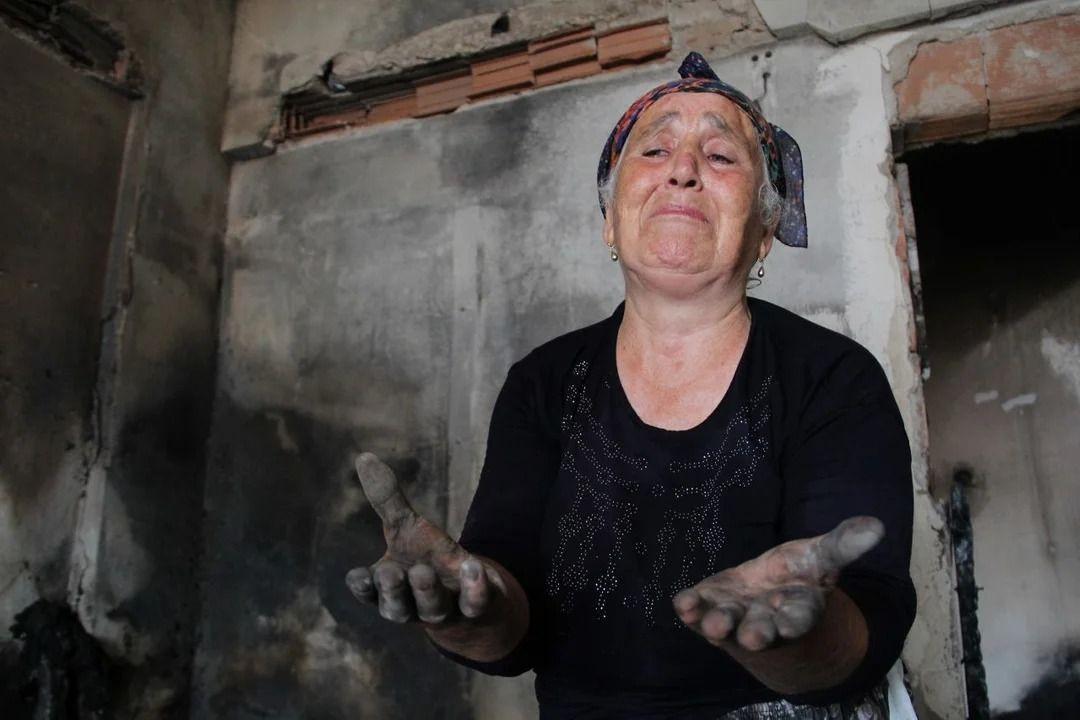 İç parçalayan görüntüler: Antalya Manavgat'ta her şeyi kül oldu - Resim: 2