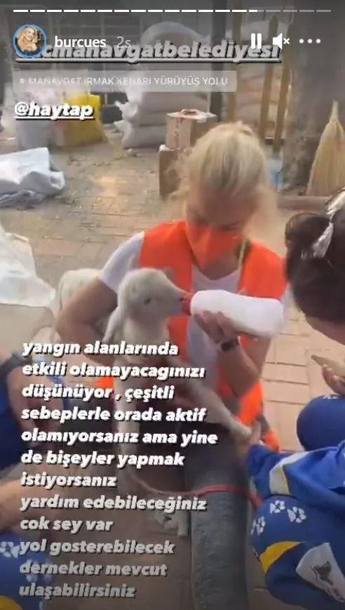 Burcu Esmersoy yardım bölgesinde kolileri böyle taşıdı - Resim: 2