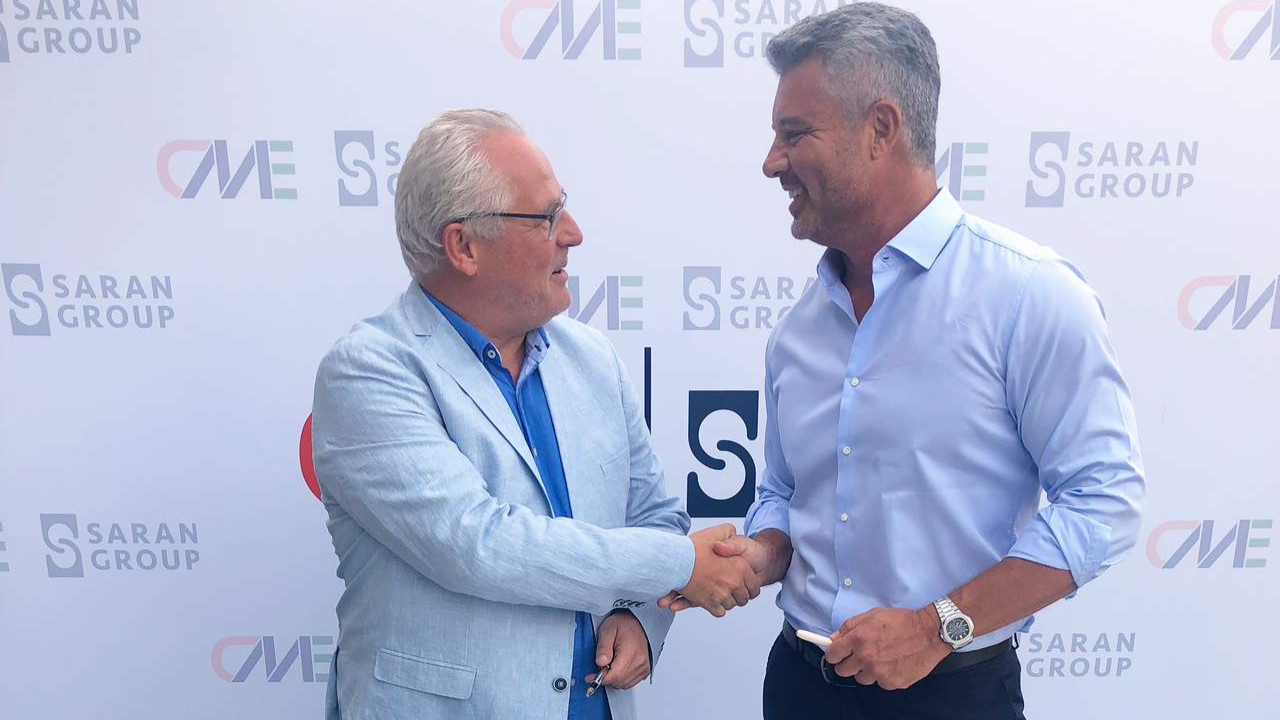 Saran Group CME ortaklığı ile Avrupa'da büyümeye devam ediyor