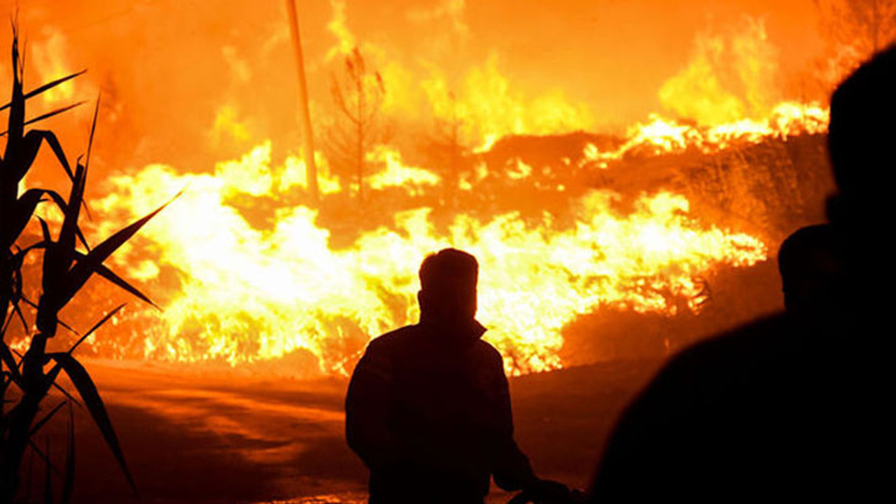 Yangınlarda son durum: 6 ilde 15 noktada müdahale sürüyor