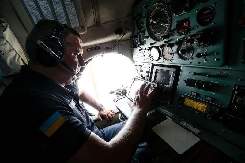 Yabancı yangın söndürme uçağı pilotlarının zorlu mesaisi kamerada - Resim: 2