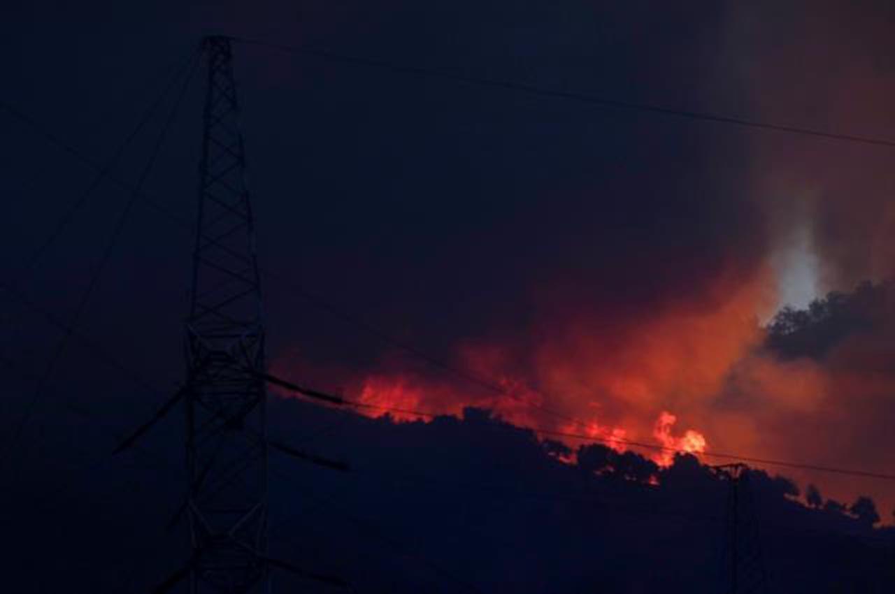 Milas'taki termik santraldeki yangından son durum - Resim: 1