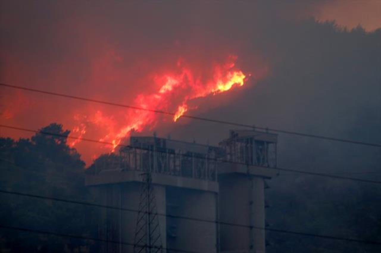 Milas'taki termik santraldeki yangından son durum - Resim: 2