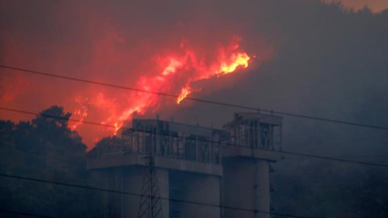 Milas'taki termik santraldeki yangından son durum