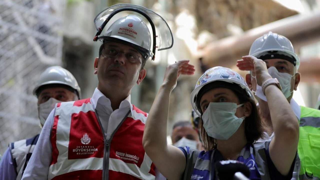İmamoğlu: ''Yangınlarda sorumluluğu belediyelere pas etme çabası acizlik''
