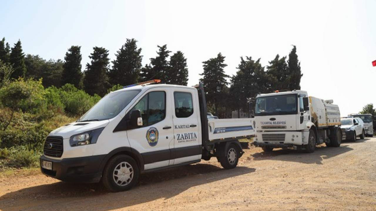 Kartal Belediyesi'nin denetimleri Denetim Aydos Ormanı'nda Yangını Önledi
