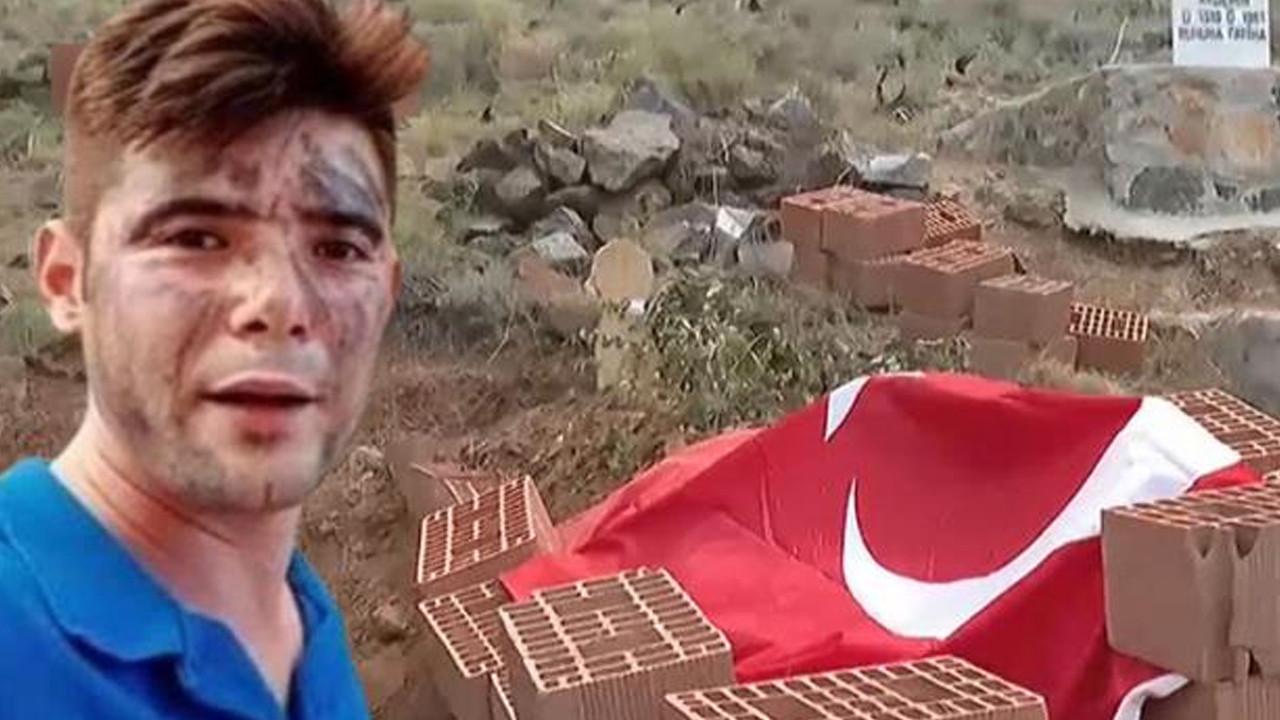 Ekiplere su taşırken vefat eden Şahin'in mezarı tehlikede