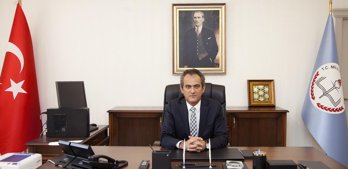 mahmut özer yeni milli eğitim bakanı