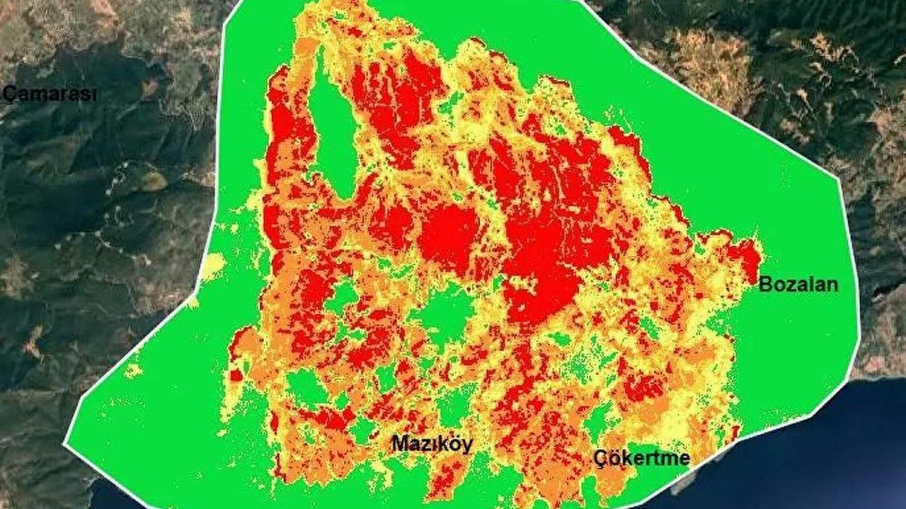 Türkiye bu haritayı yıllarca unutmayacak