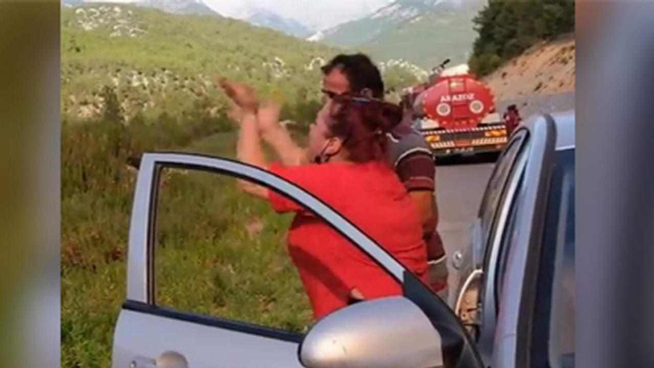Orman yangını sırasında isyan etmişti; Erdoğan'a hakaretten tutuklandı