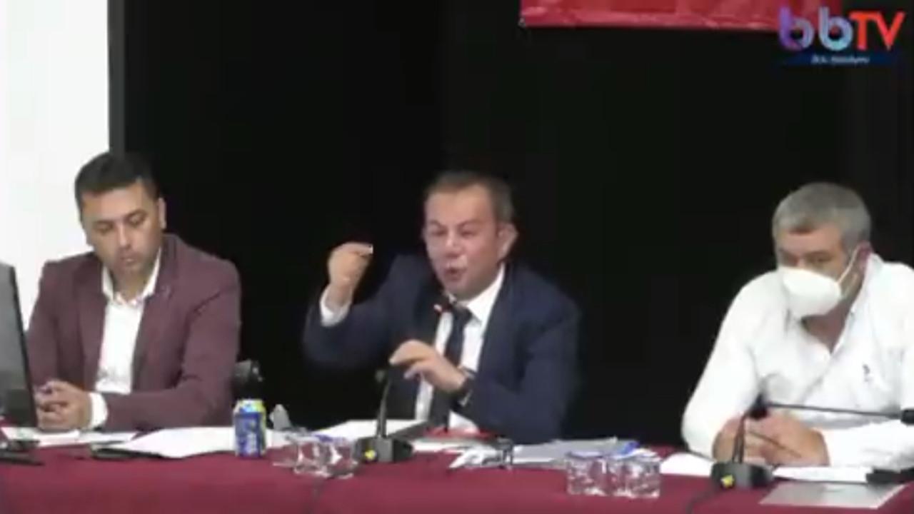 Tanju Özcan: ''Bana kayyum atayacak adamın alnını karışlarım''
