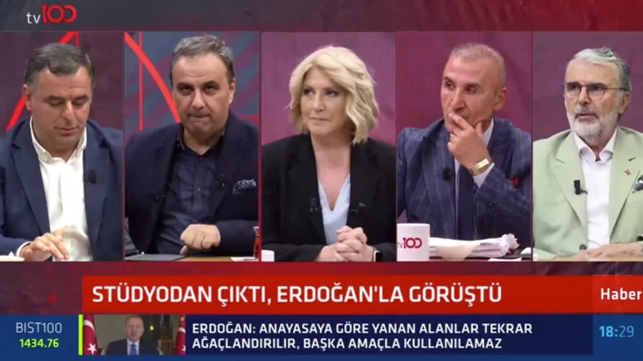 Canlı yayın karışınca canlı yayında Cumhurbaşkanı Erdoğan'ı aradı