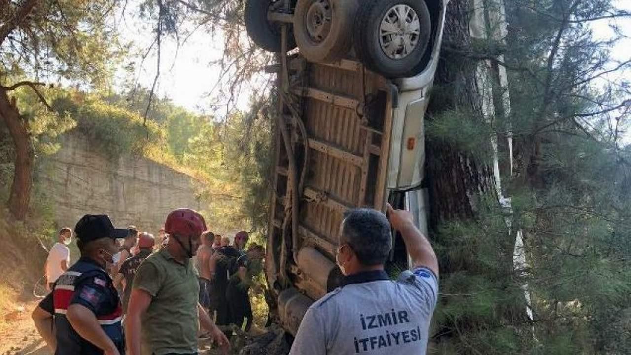 İzmir'de facia! 6 ölü, 11 yaralı var!