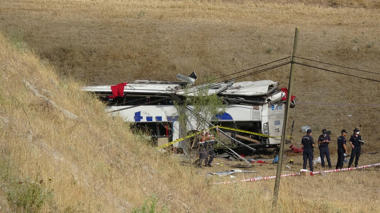 Balıkesir'de otobüs faciası: 15 ölü, 17 yaralı