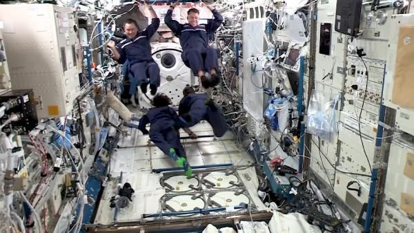 NASA paylaştı: Uluslararası Uzay İstasyonu'nda bir ilk
