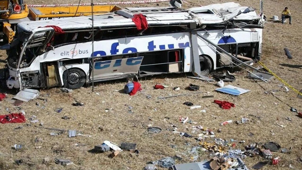 15 kişinin öldüğü otobüs faciasında vahim iddia: Şoförün mesajları ortaya çıktı