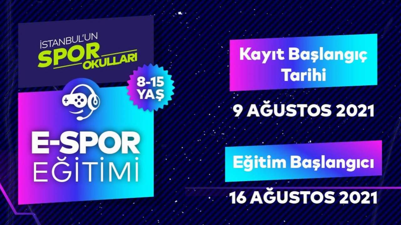 Türkiye'nin ilk online e-Spor eğitimi veren kurumu Spor İstanbul