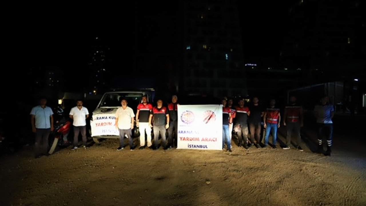 Kartal Belediyesi'nden yangınzede vatandaşlara yardım eli