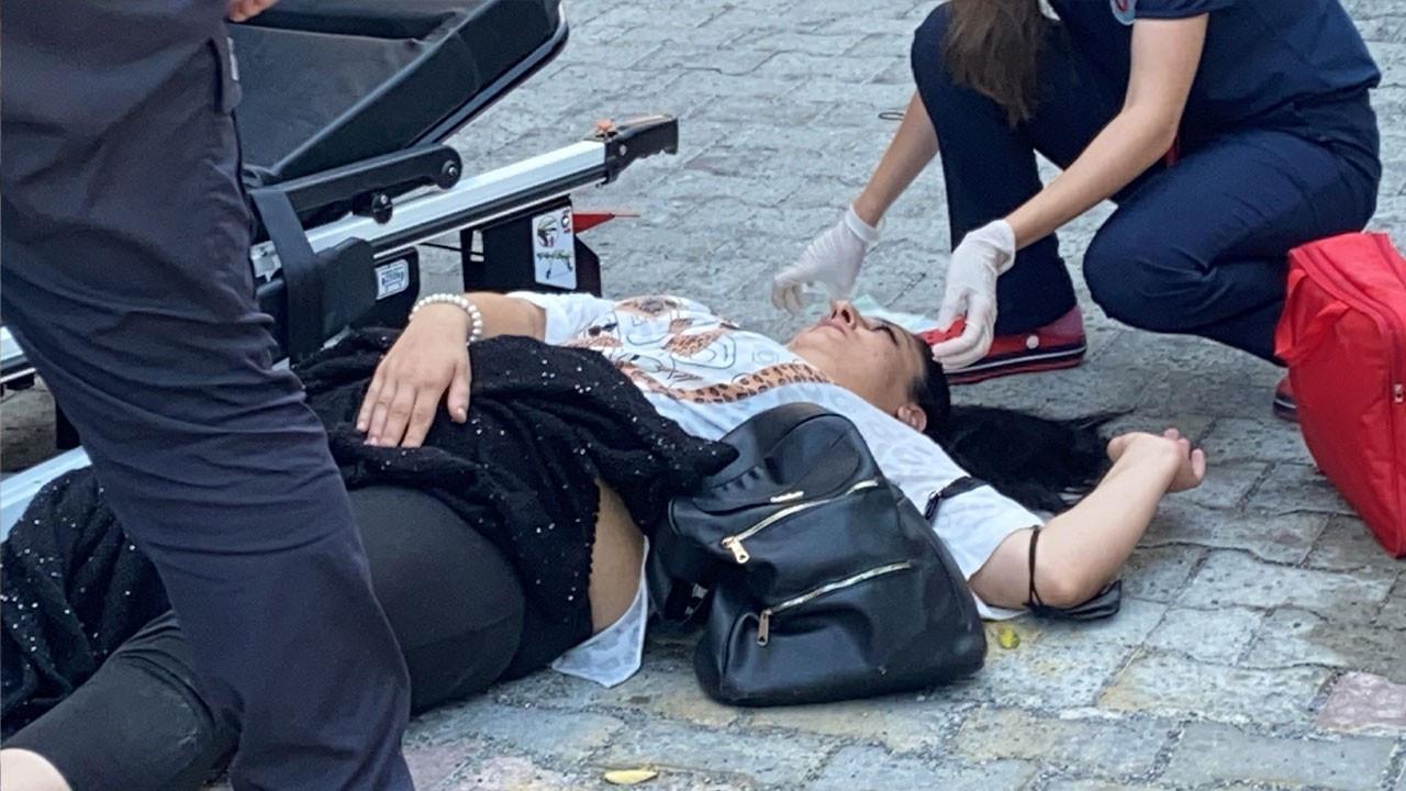 Sevgilisi İstanbul'un ortasında güpegündüz bir kadına dehşeti yaşattı
