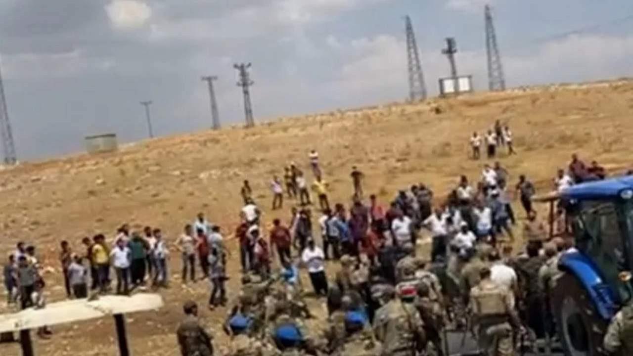 Elektrik kesintilerini protesto eden çiftçilere gözaltı