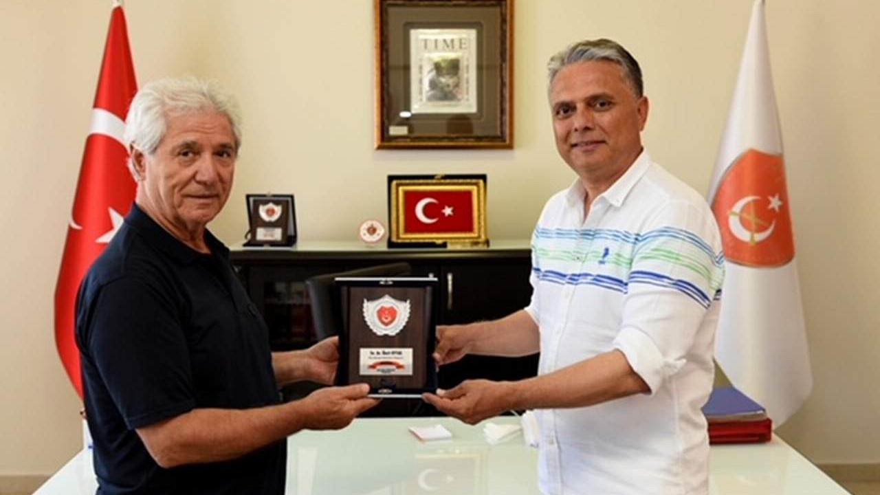 Muratpaşa Belediye Başkanı Uysal'dan TEMAD ziyareti