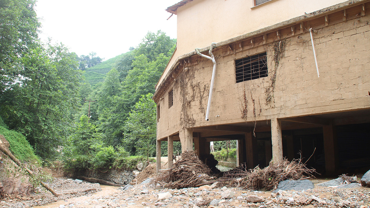 Selin vurduğu Rize'de acil yıkım kararı