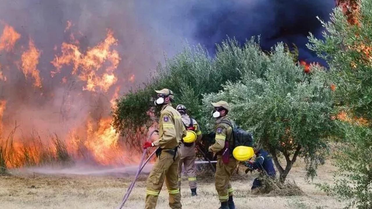 Yunanistan'daki yangınlar için korkutan açıklama