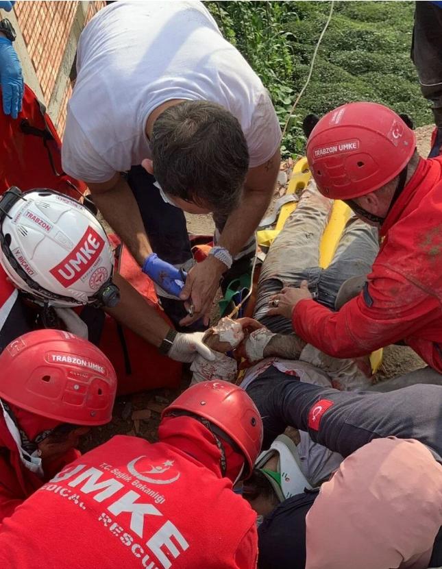 Trabzon'da yıldırım faciası: 1 ölü, 1 yaralı