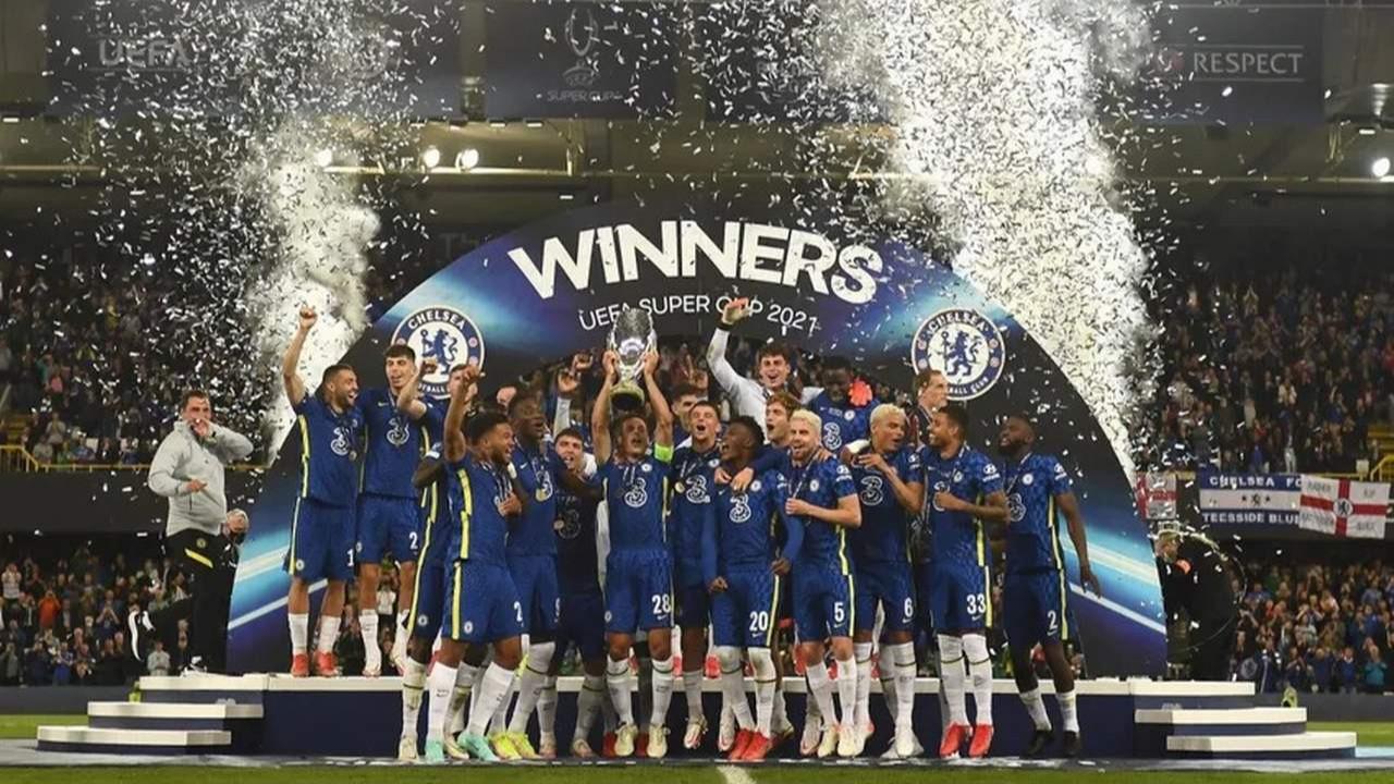 Süper Kupa'nın sahibi Chelsea oldu