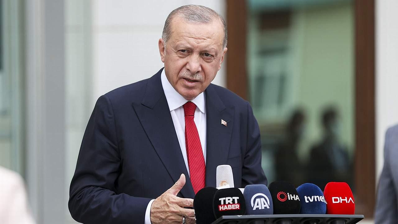 Erdoğan: ''Deprem, sel ve toprak kayması ülkemizin kaderi''