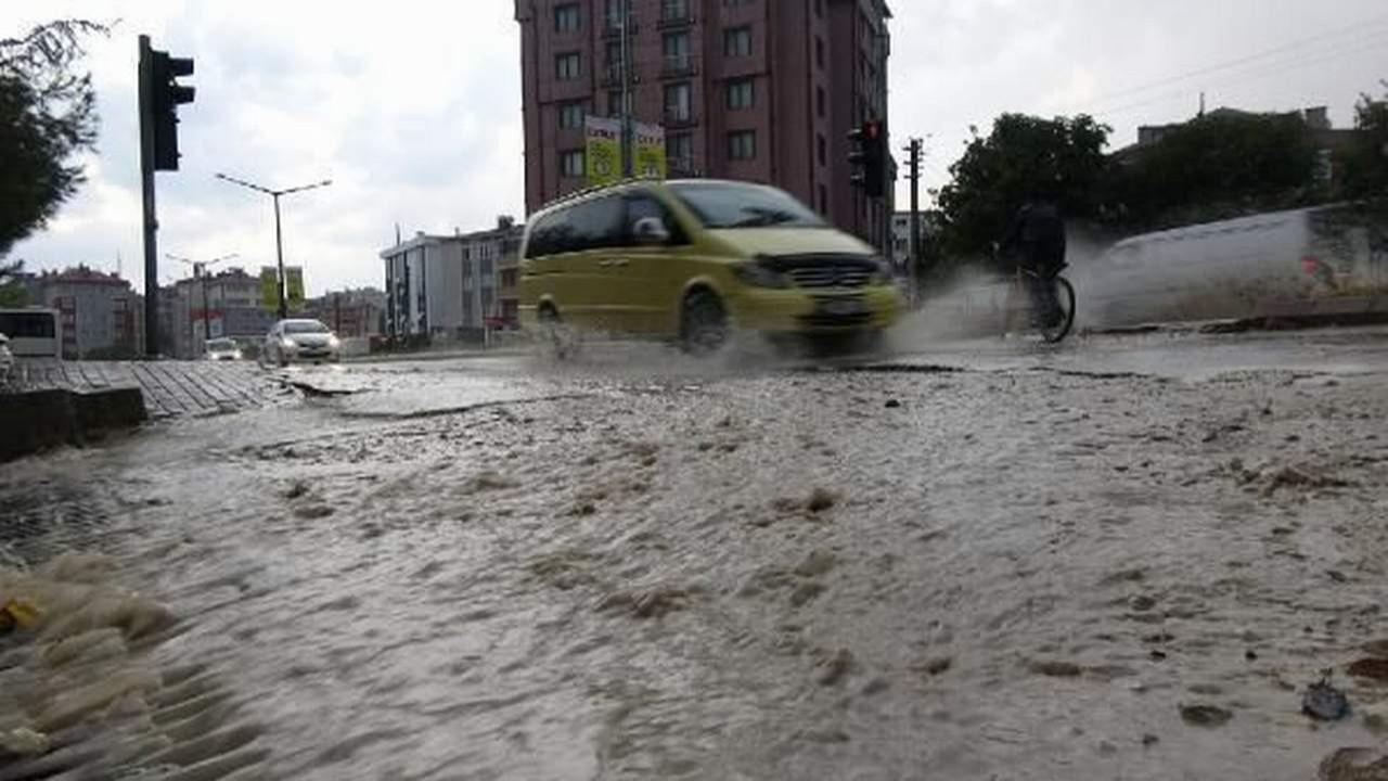 Yağışlar Trakya'yı da vurdu! Önce Edirne, sonra Tekirdağ...