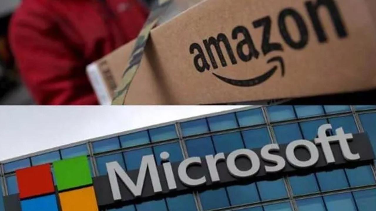 Dünya devleri Amazon ve Microsoft yeniden karşı karşıya