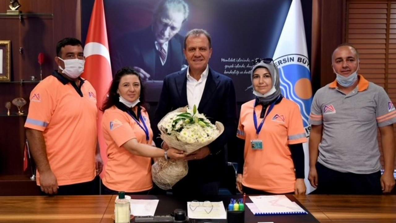 Mersin Büyükşehir Belediyesi'nden belediye personeline mesleki eğitim