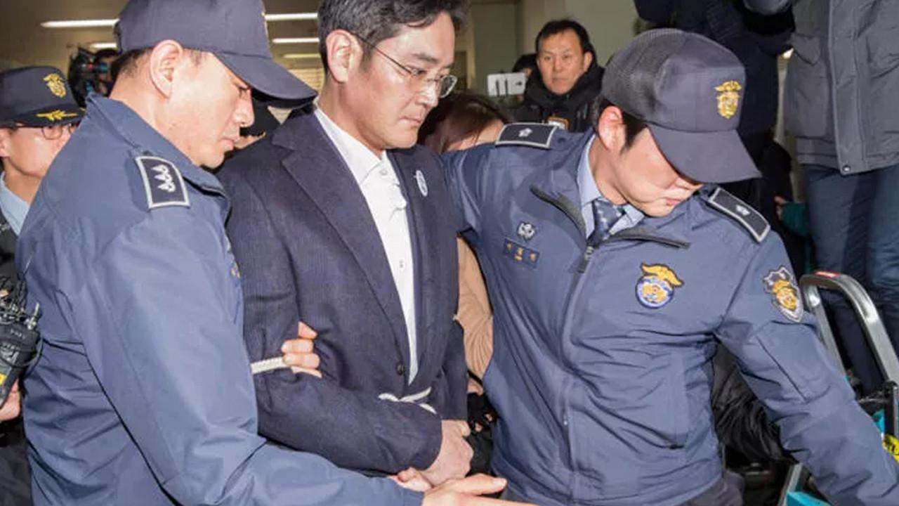 Samsung'un varisi cezaevinden tahliye oldu