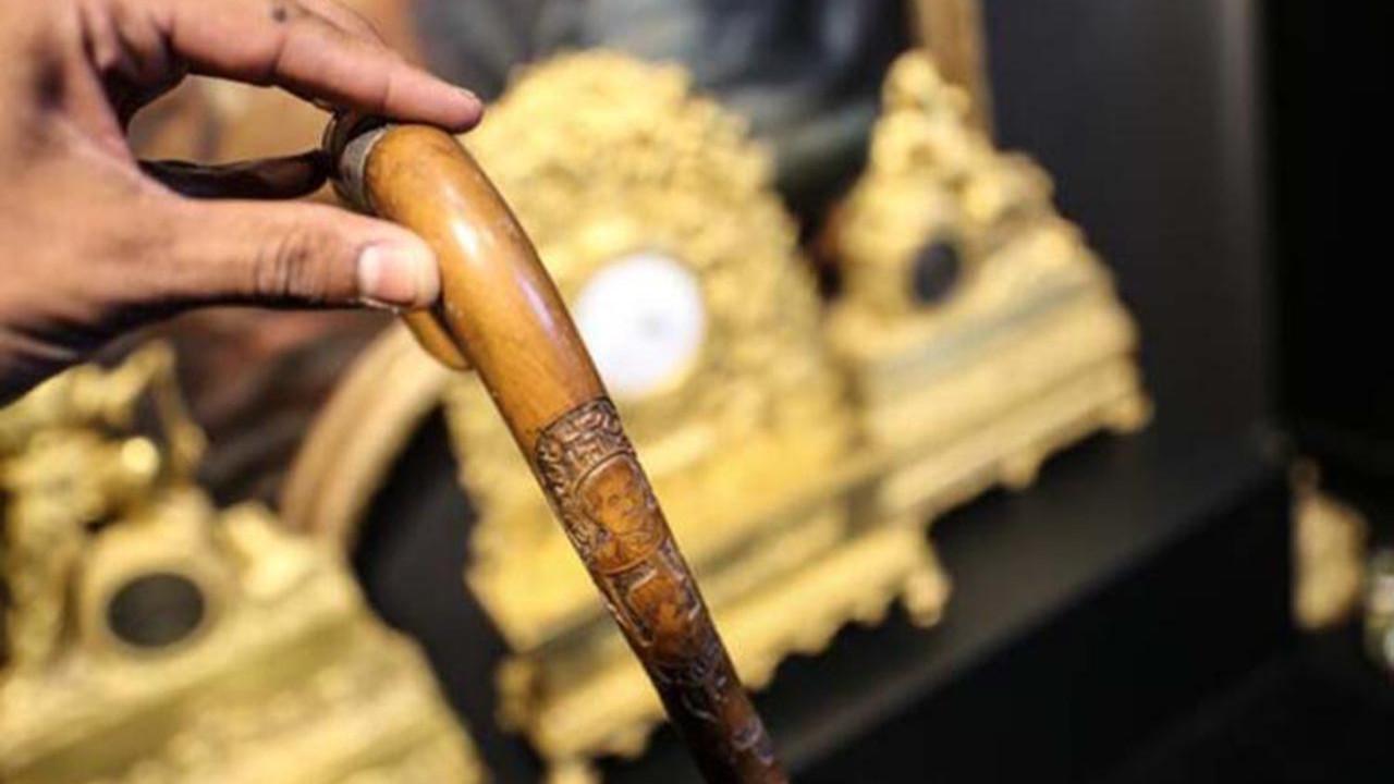 Atatürk'ün bastonu satışa çıkıyor