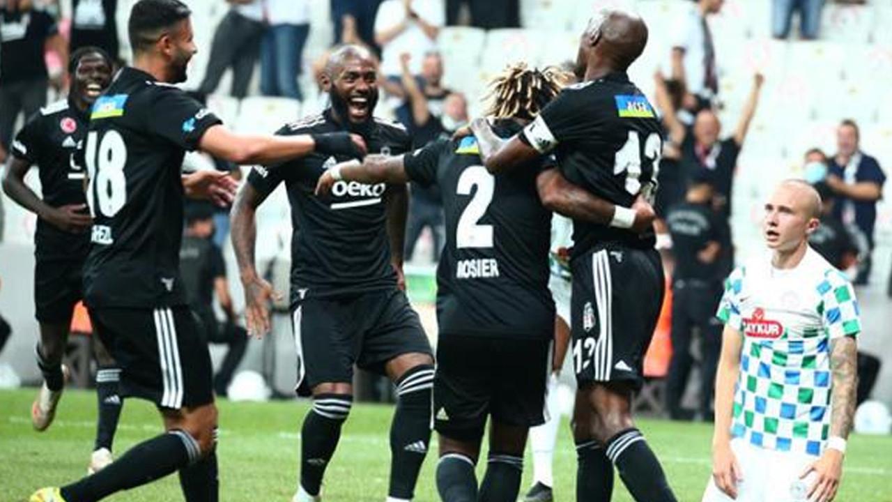 Sezonun açılış maçında Beşiktaş, kaldığı yerden devam ediyor