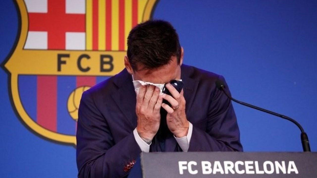Messi'nin gözyaşlarını sildiği peçete 10 bin dolara satılıyor