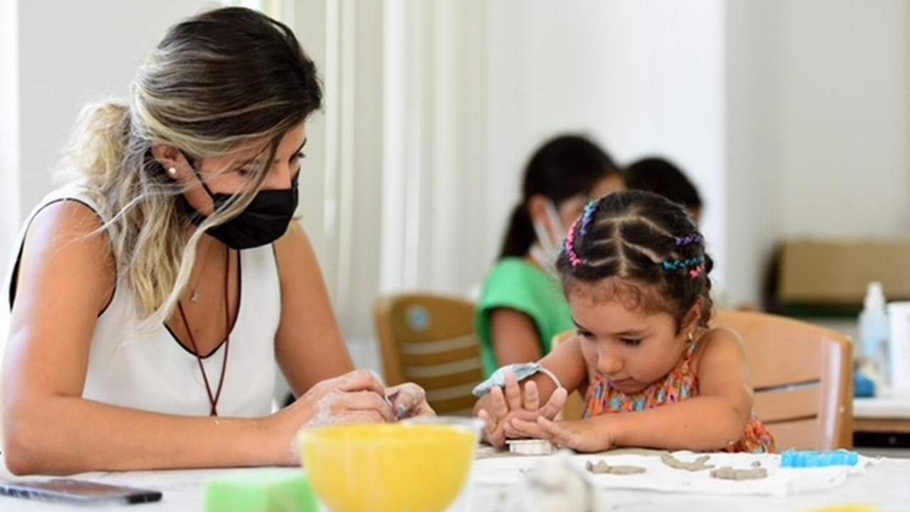 Muratpaşa'da çocuklar kendilerini keşfediyor