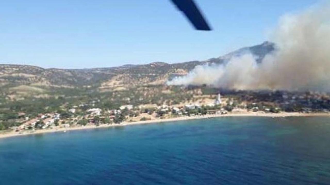 Çanakkale'de aynı bölgede 6'ıncı kez orman yangını