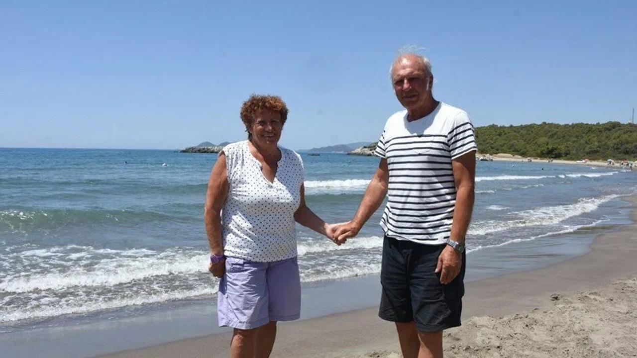 Türkiye aşkı: 38 yıldır tatil için Fransa'dan karavanla Türkiye'ye geliyorlar!