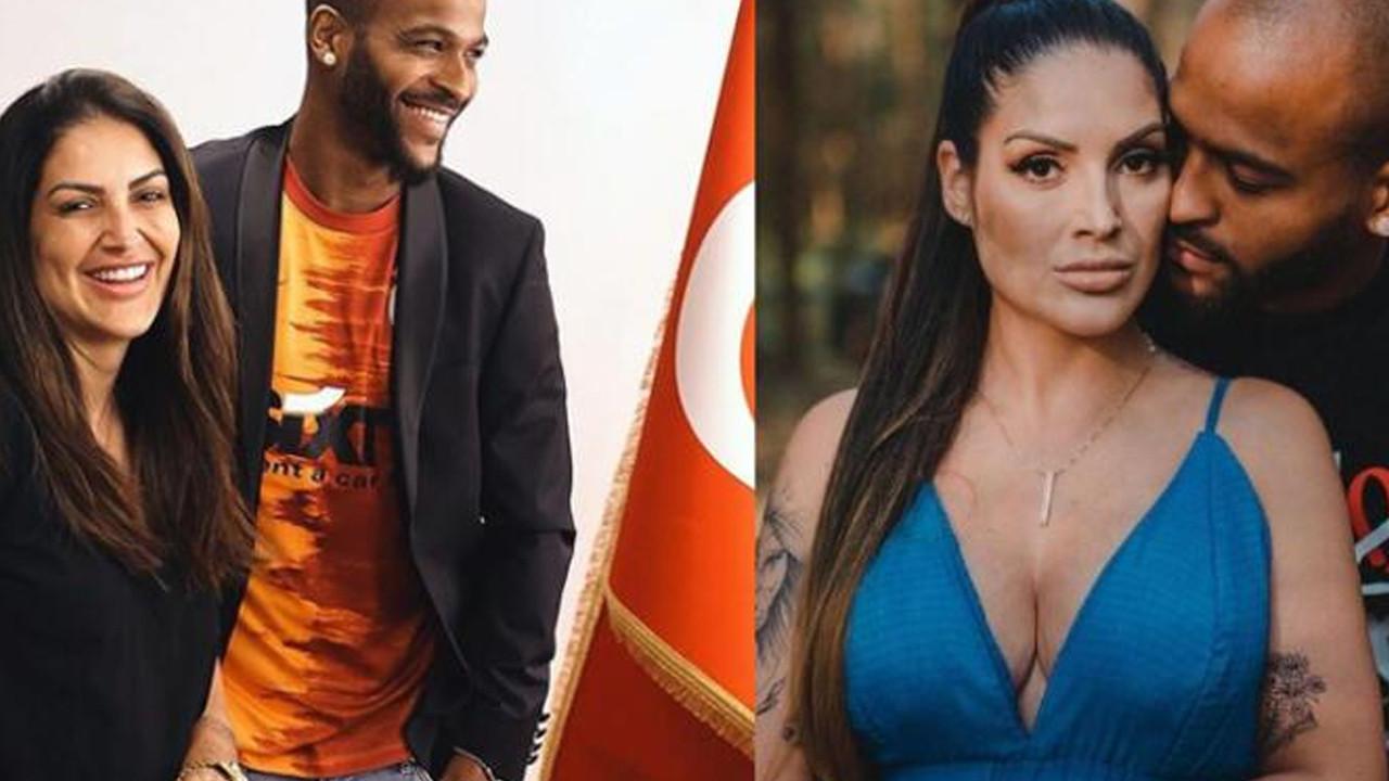 Galatasaraylı Marcao'nun eşinden özür paylaşımı