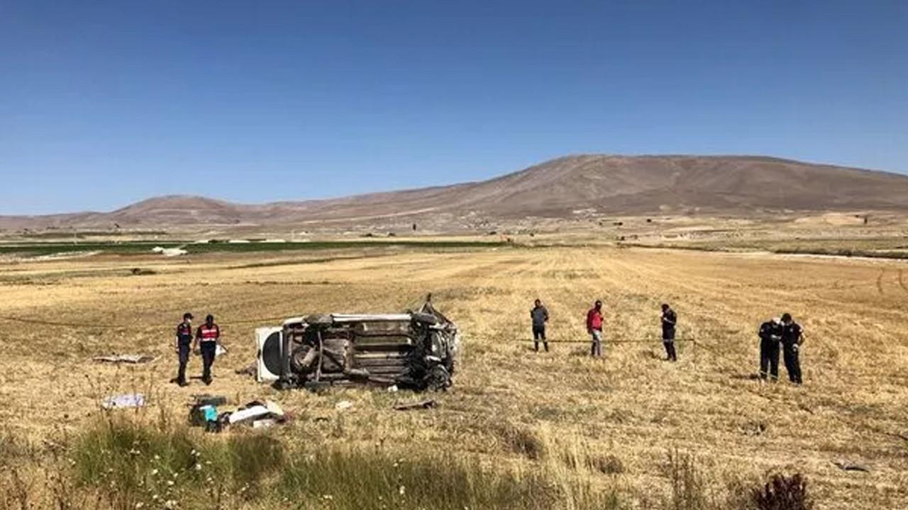 Kayseri'de korkunç kaza: 4 ölü, 10 yaralı