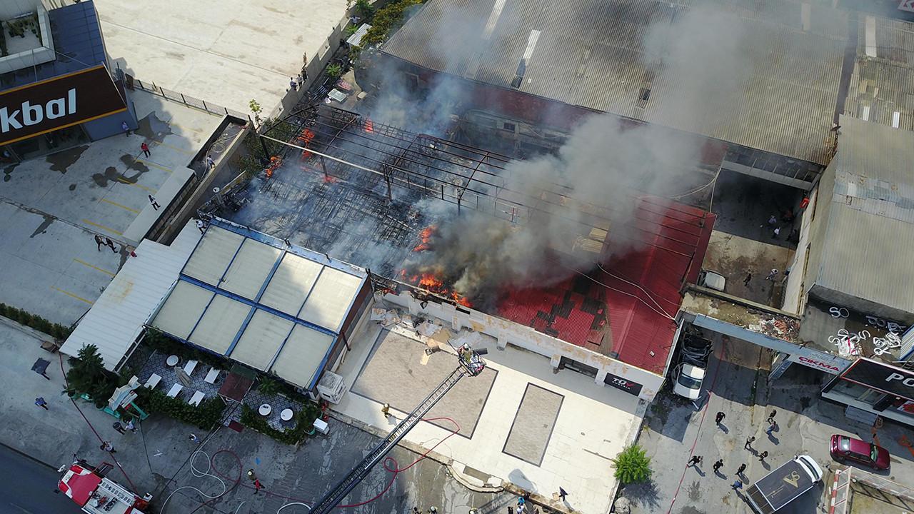 İstanbul'da balık restoranında yangın paniği