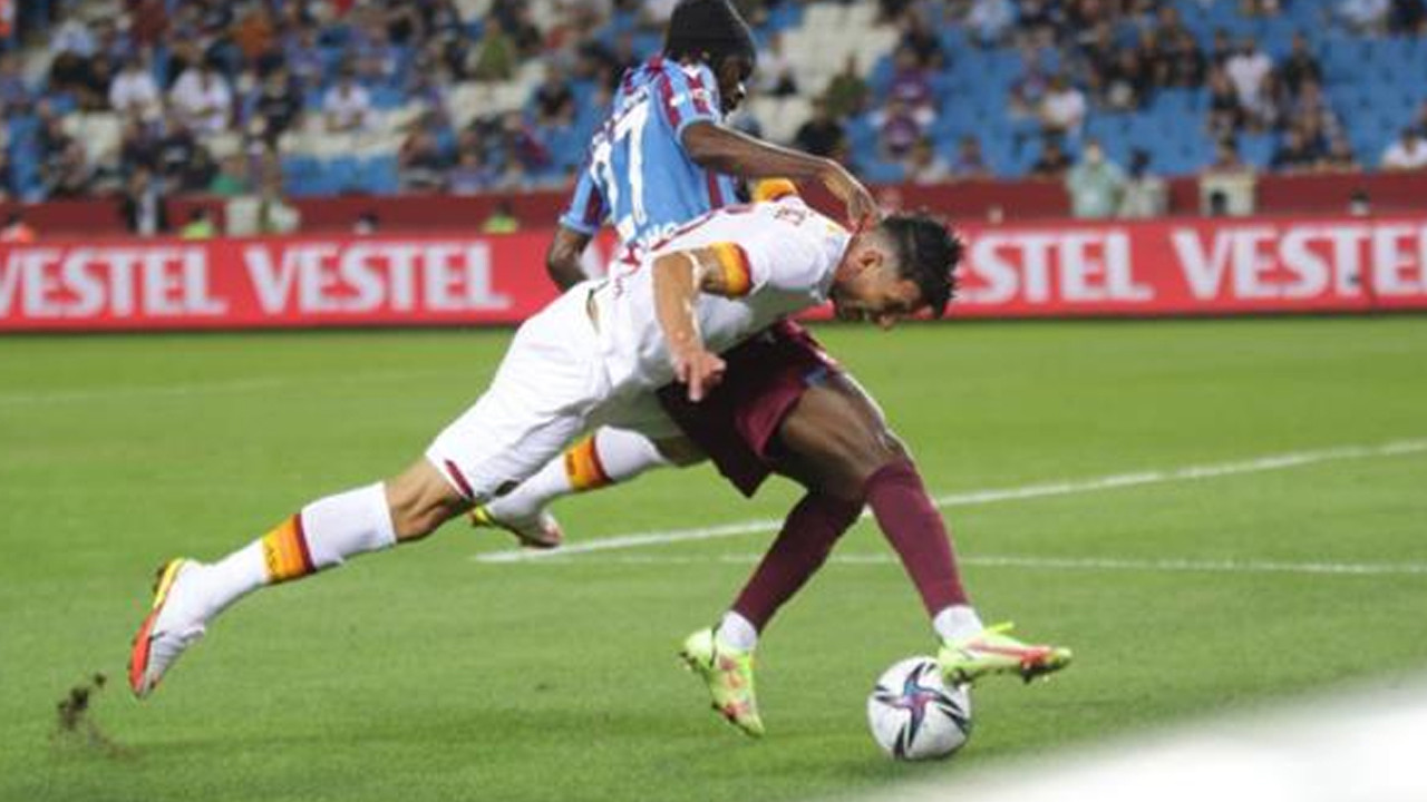 Trabzonspor turu zora soktu: Trabzonspor, Roma'ya 2-1 mağlup oldu