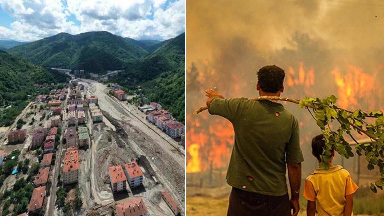 Yangın ve sel afeti için toplanan bağış miktarı açıklandı